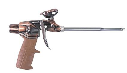 GoBest Heavy Duty PTFE pistola de espuma expansiva (acabado en latón, gb-0003