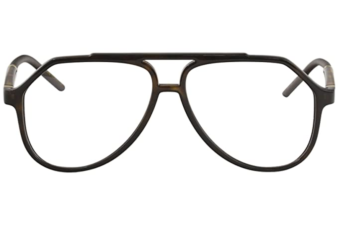 f15448a681e Amazon.com  Dolce   Gabbana Eyeglasses D G DG5038 DG 5038 502 Havana Optical  Frame 56mm  Clothing