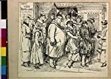 Photo: Lady,Fat Man,Did I step on your toes,Obesity,Etiquette,Theater,c1920,Cartoon