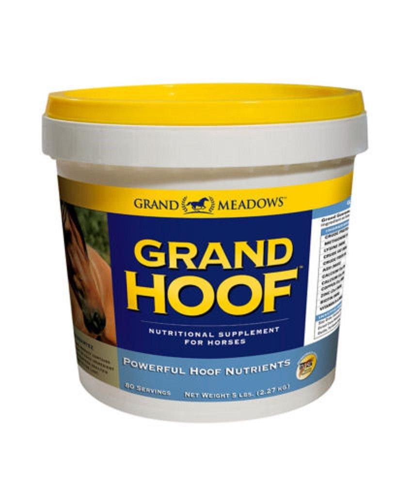 Grand Hoof Horse Biotin Amino Acids Maple Flavored Supplement 5 lbs 80 Day Supply