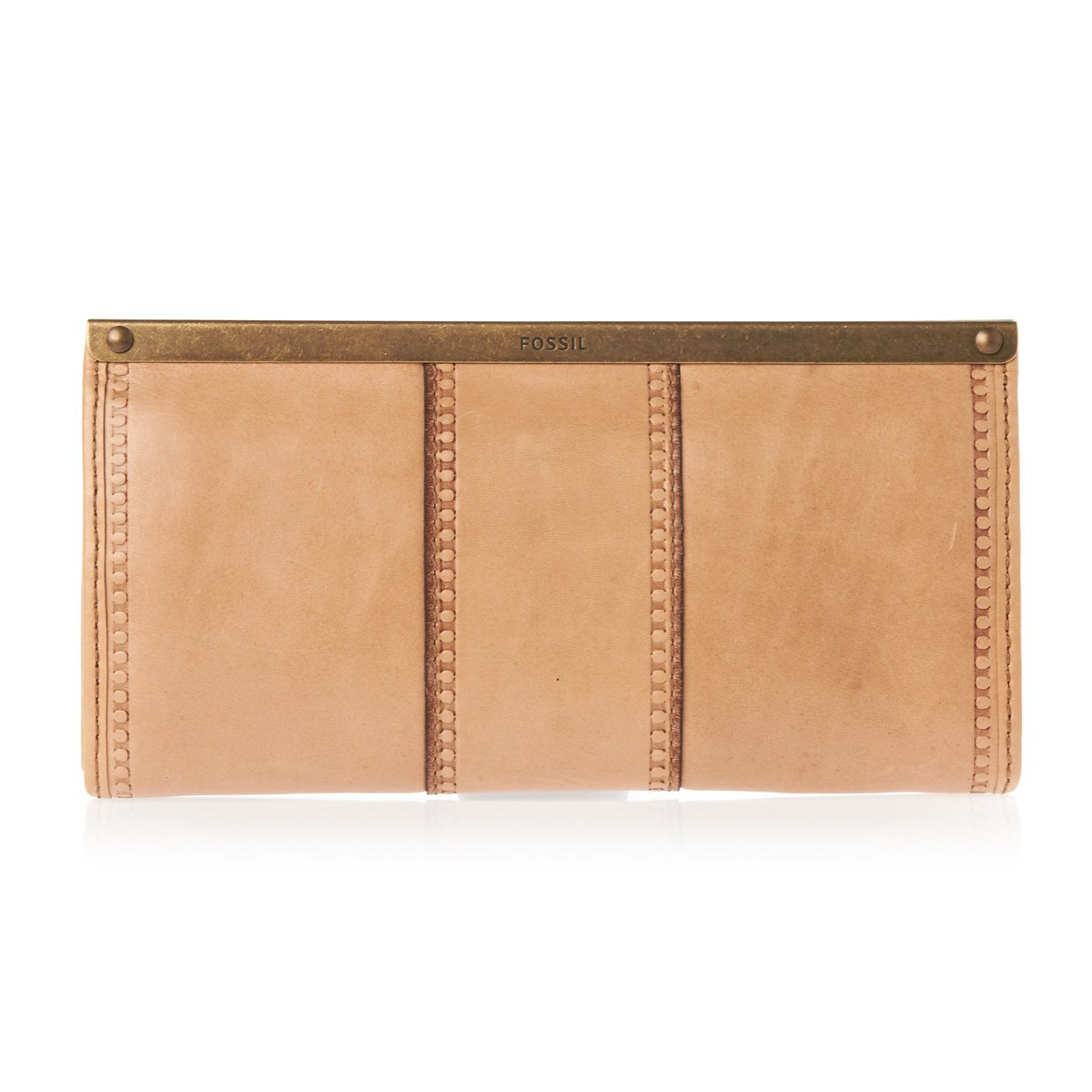 2f2333c47c2a1 Fossil SL3975 Vintage Revival Frame Clutch Tan  Amazon.co.uk  Shoes   Bags