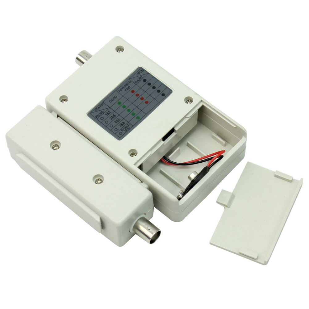 High Quality Ethernet Network Lan Cable Rj45 Bnc Coax Signal Tester 10base Rg45 And Rj11 Etc Circuit Testers Test Tool Electronics