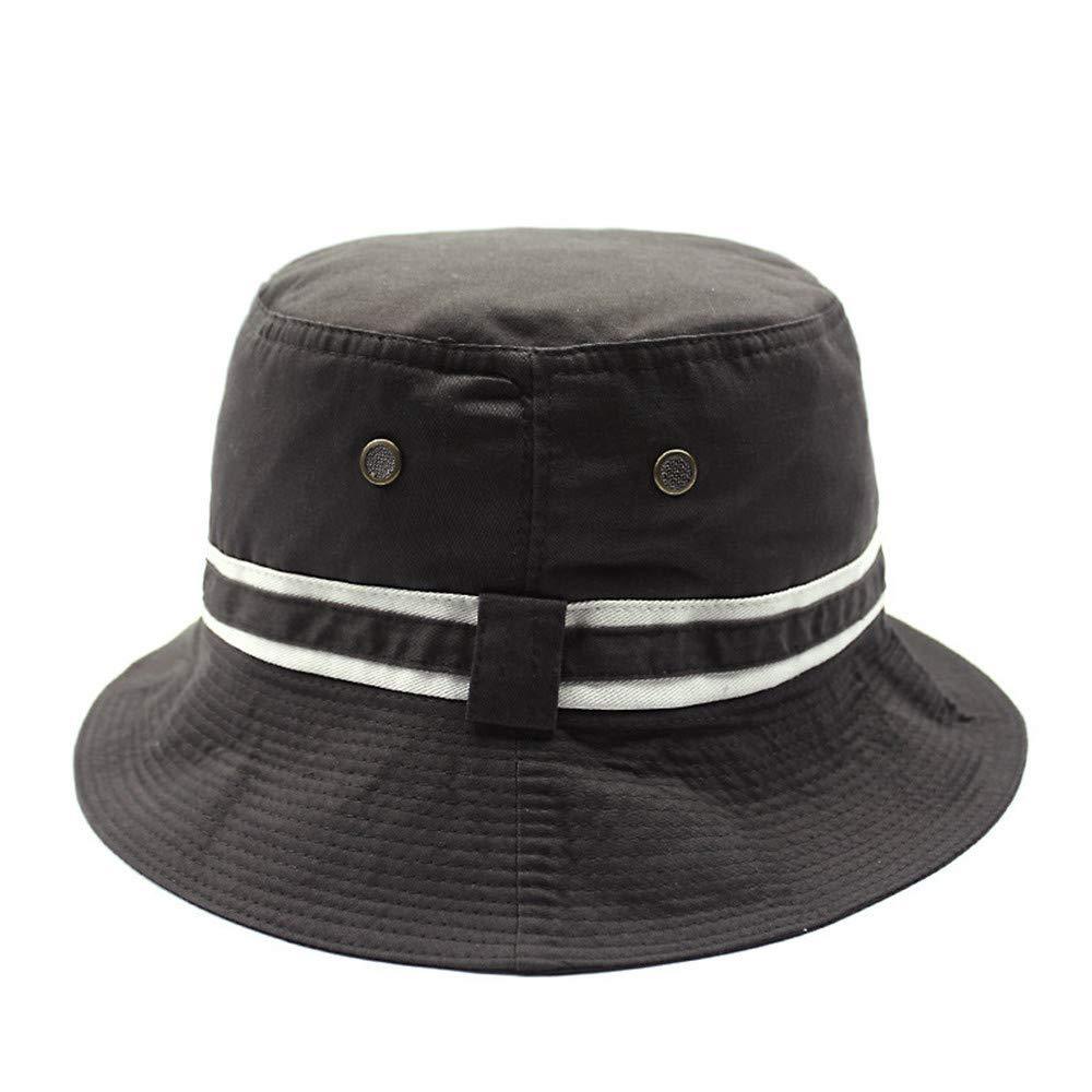 Smx cappello pescatore cotone/cappello da sole/cappello da spiaggia/Asciugatura Rapida/cappuccio esterno brimCappello da visiera cappello pescatore moda, marrone Smx hat