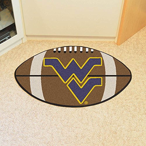 Team Fan Gear Fanmats West Virginia Football Rug 22