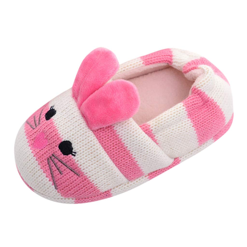 3f70b5a18aa63 Amazon.com : Baby Shoes, Lucoo Soft Sole Warm Shoes Unisex Cartoon ...