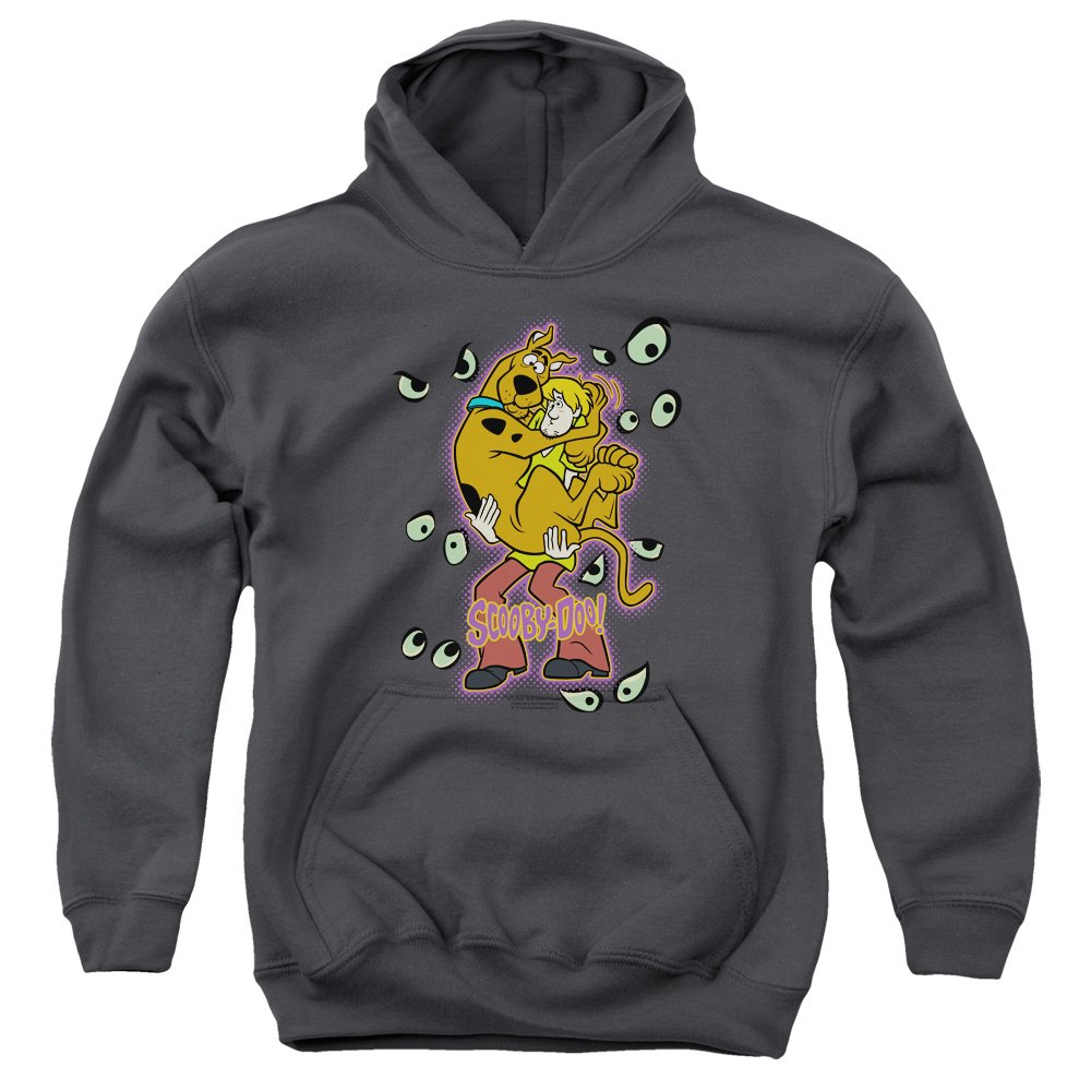 Being Watched Kids Pull Over Hoodie TeeShirtPalace Scooby Doo