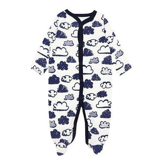 8f74bc076cf4 Amazon.com  Sagton Baby Girl Boy Jumpsuit