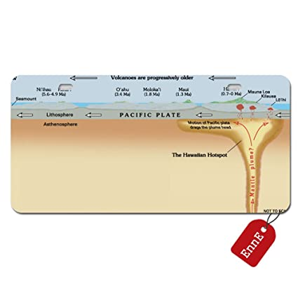 amazon com: enne personalized license plate cover hawaii hotspot cross  sectional diagram for car 2 holes car tag 11 8 inch x 6 1 inch: automotive