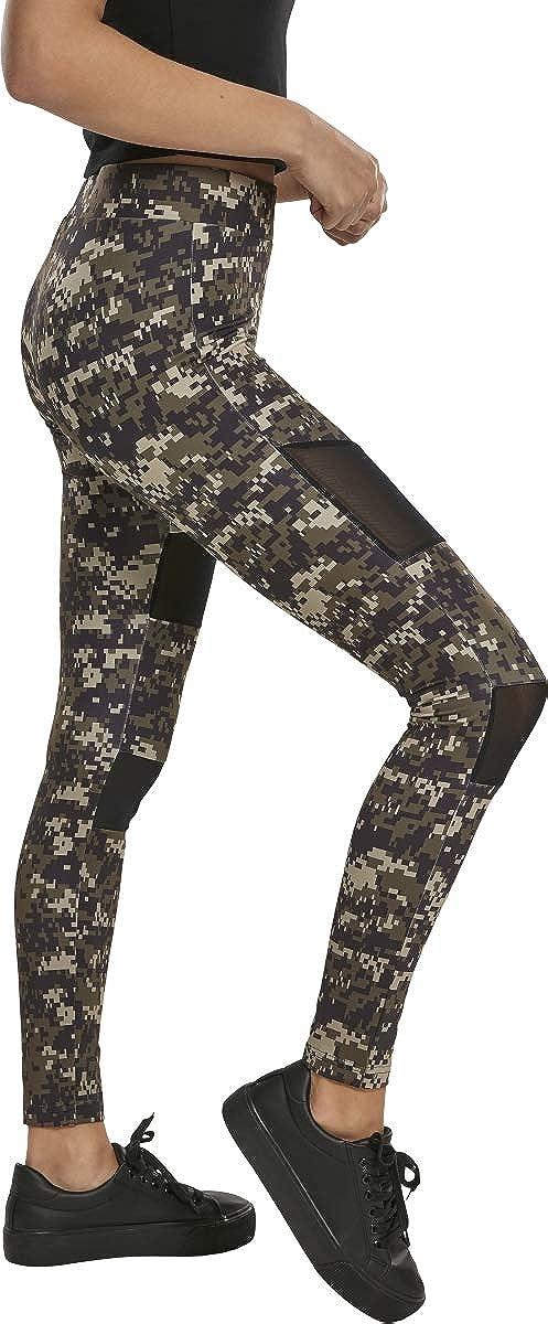 Urban Classics Damen Ladies Tech Mesh Leggings