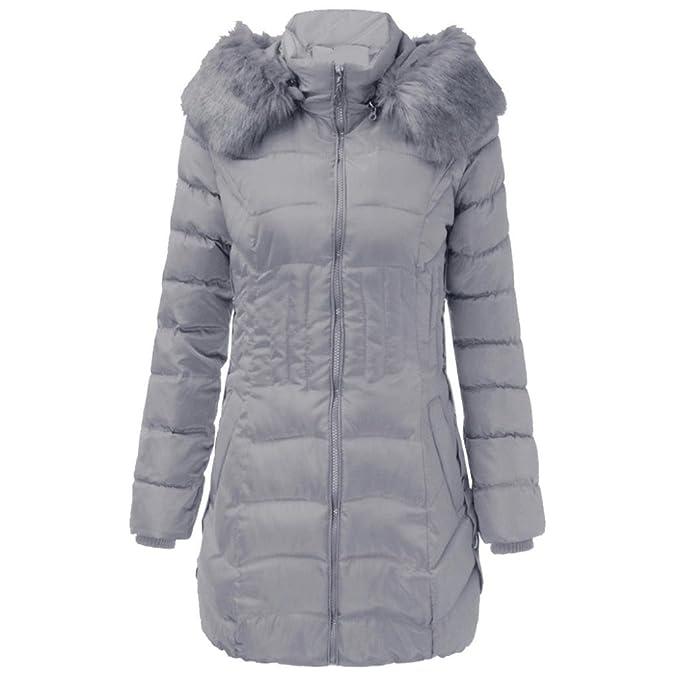bieten eine große Auswahl an Wie findet man feine handwerkskunst TUDUZ Damen Daunenjacke, Damen Jacke Lang Steppjacke Winterjacke  Winter-Mantel mit Kapuze Trenchcoat-Bitte kaufen Sie eine Nummer größer als  üblich