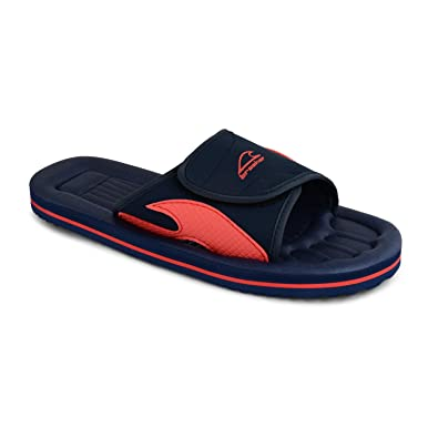 a349b402f Mens Flip Flop Velcro Shower Mule Sandals Sports Summer Beach Gym Shoes Size