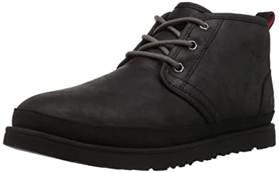 UGG Men's Neumel Waterproof Chukka Boot, Black, 10 Medium US