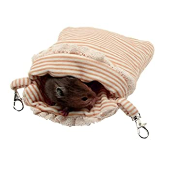 ASOCEA - Saco de Dormir para Colgar hámster, Jaula de pájaros y Accesorios para Animales pequeños: Amazon.es: Productos para mascotas