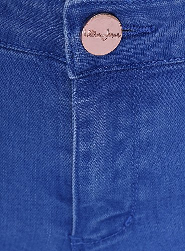 Oodji 7500w Básicos Azul Slim Mujer Fit Ultra Vaqueros TfwTrq6