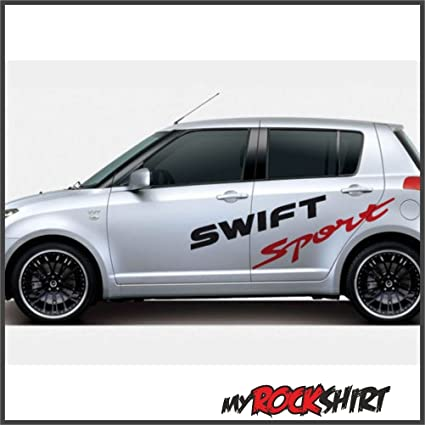 Aufkleber Kit 2x Swift Sport Suzuki Aufkleber 120 Cm Aufkleber Mit Montage Set Inkl Estrellina Montage Rakel Estrellina Glücksaufkleber