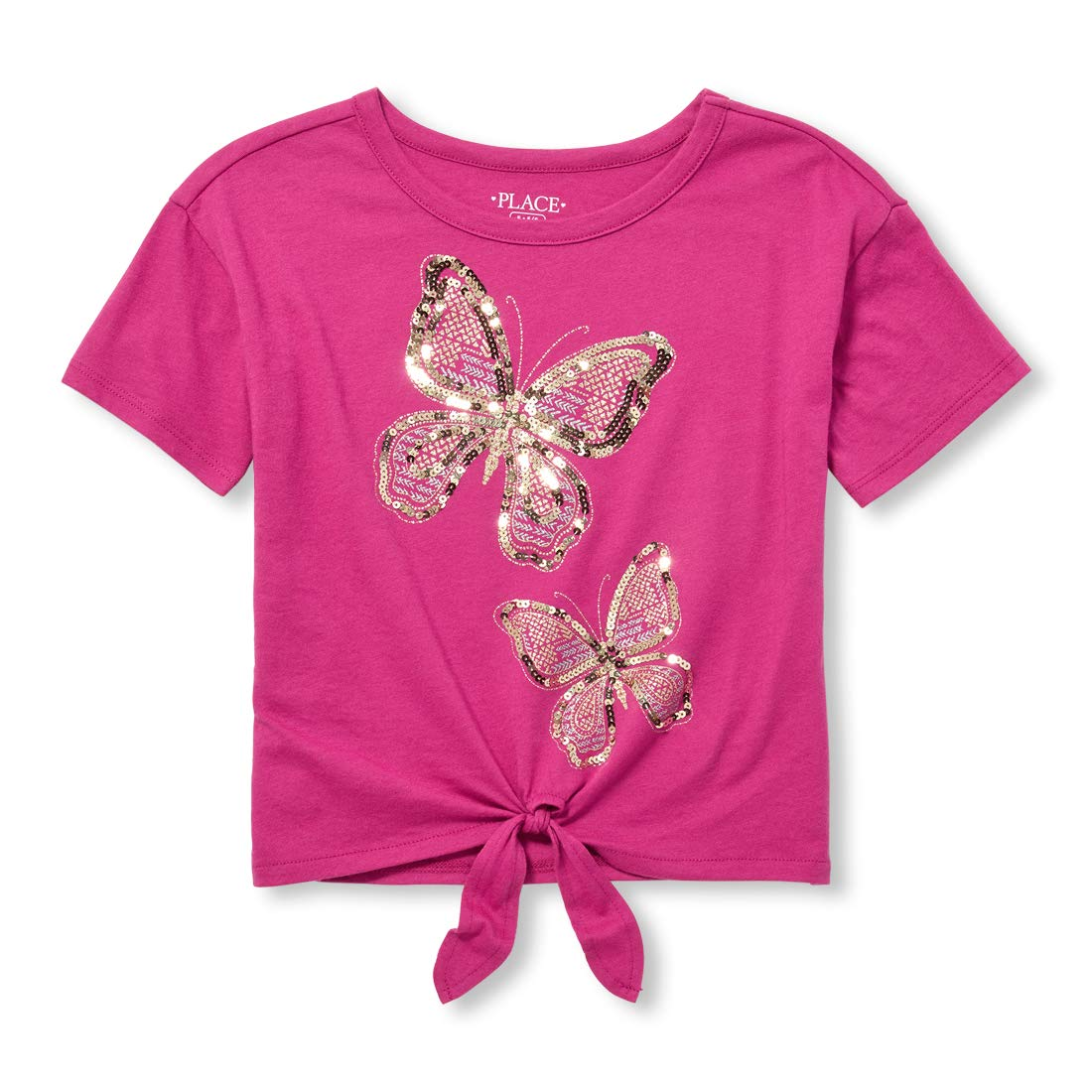 The Children's Place Big Girls Short Sleeve Graphic Tops The Children' s Place