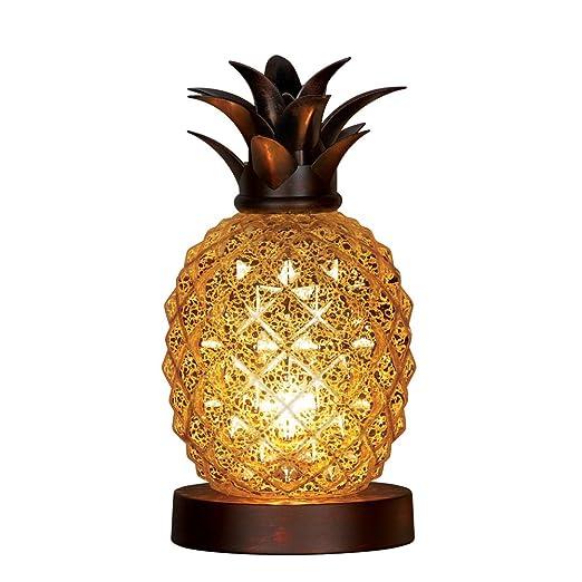 Amazon.com: Lámpara de mesa Piña (Cristal de mercurio: Home ...