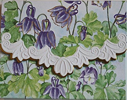Carol Wilson Fine Arts Lilac Drops Blank 10 Card Set Portfolio
