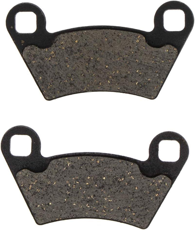 Front//Rear Niche Left /& Right Semi-Metallic Brake Pads Set for Polaris Ranger 500 2004-2013,2017-2018