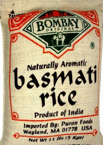 Bombay Basmati Rice White, 10 lb by Bombay Company