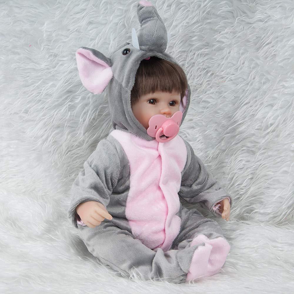 Amazon.com: Birdfly Type:9302 Reborn Toddler Smile Baby Doll Sit ...