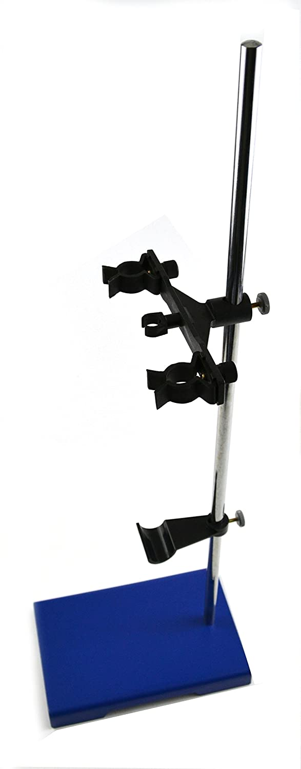Hoffman Electrolysis Metal stand with support clamps 24 overall height
