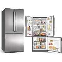 Geladeira Frost Free Syde Inverse 3 Portas 540L 220V Platinum - Brastemp