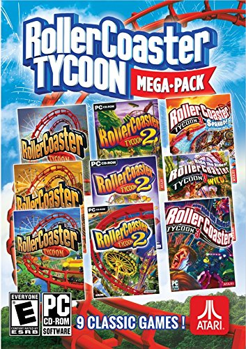 Rollercoaster Tycoon: Mega Pack - PC Pc Roller Coaster Tycoon 3