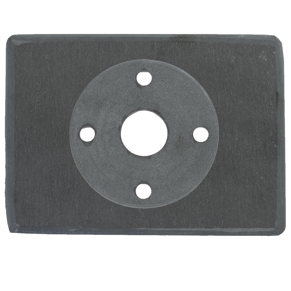 Koyal Wholesale Thermostat Trim Plate for Nest, Wall Plate (Rectangle 6'' x 4.33'', Slate Rock) by Koyal Wholesale (Image #2)
