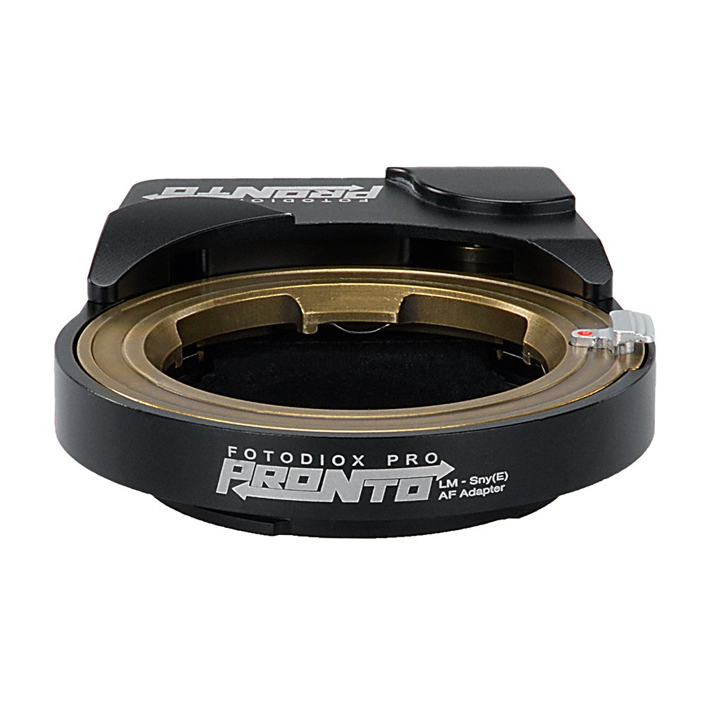 Fotodiox Pro PRONTO Adapter - Leica M Mount Lens to Sony E-Mount Camera Autofocus Adapter by Fotodiox (Image #7)