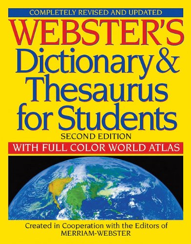 Webster's Dictionary & Thesaurus for Students, Second Edition cover