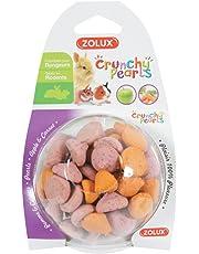 Zolux - Friandises Crunchy Pearls à la Pomme et Carotte pour Rongeur - 63g