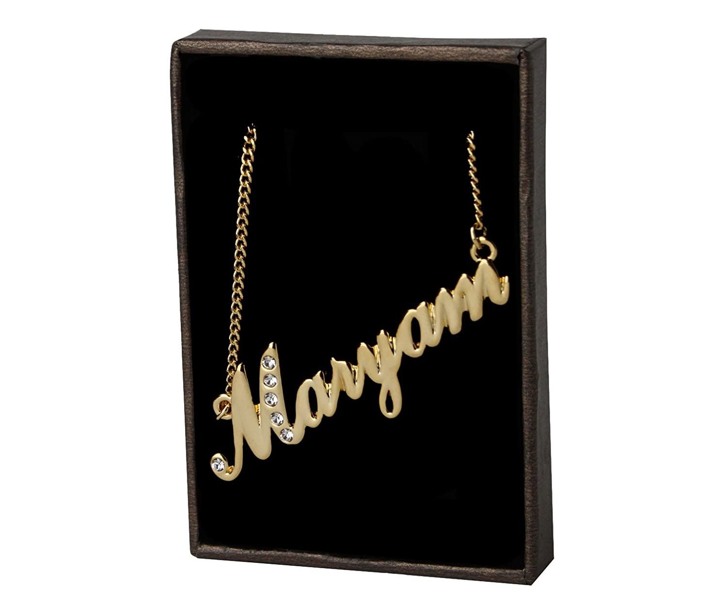 Name Necklace Maryam - 18K Gold Plated