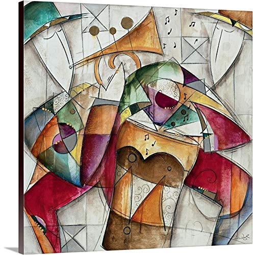 - GREATBIGCANVAS Gallery-Wrapped Canvas Entitled Jam Session I by Eric Waugh 10