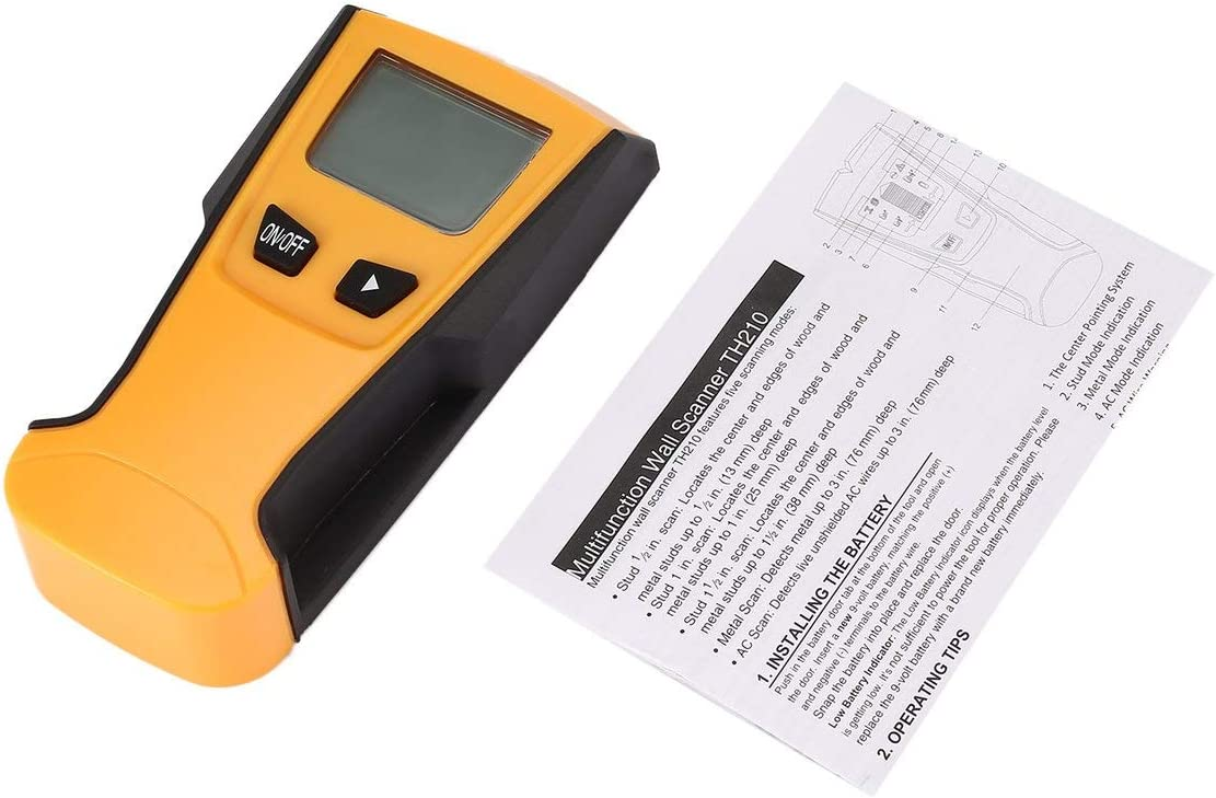 fFRtprintse TH210 Num/érique /Écran LCD de Poche /Écran Tuyau Scanner Centre D/étecteur D/étecteur D/étecteur D/étecteur de Signal