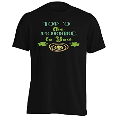 Amazoncom Top O The Morning To You Mens T Shirt Tee S393m Clothing