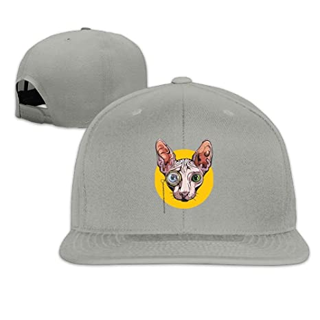 Gxdchfj Plain Logo Baseball Cap Polo Safari Dad Sphinx Cat with ...