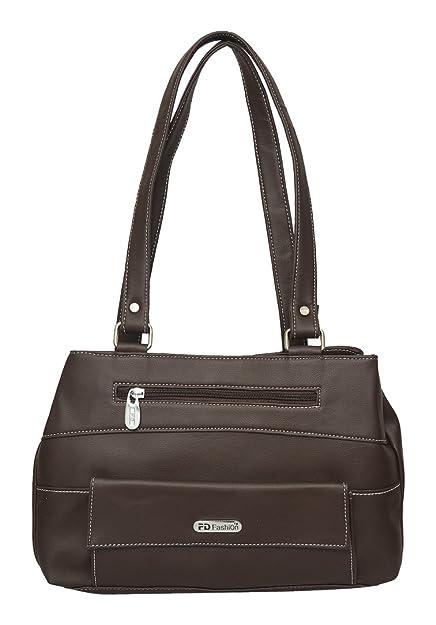 51c91c5e73 FD Fashion Shoulder Bag (Brown)  Amazon.in  Shoes   Handbags