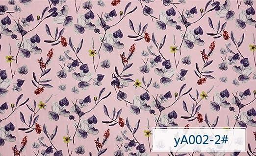 JKLAQ Telas por Metros para Vestidos- Vestido Estampado Elástico De Algodón Cheongsam Camisa Vintage Ropa Tela, 1: Amazon.es: Hogar