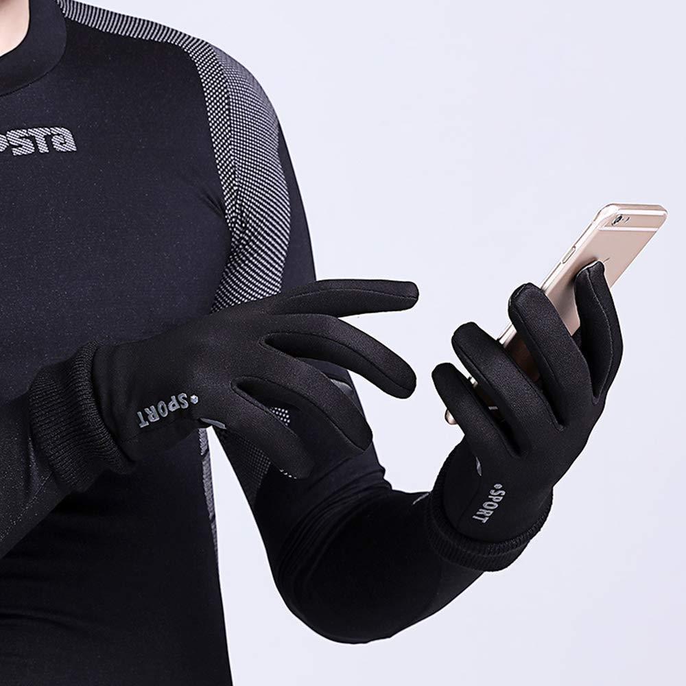 FEGER Hivernales Gants Chauds pour Hommes et Femmes antid/érapante /écran Tactile Tous Les Doigts Gants Polaire Coupe-Vent