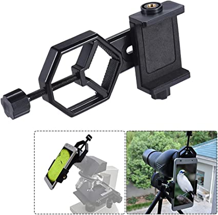 TOPTOO Metal Telescope Mount Adapter Bracket with Adjuatable ...