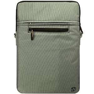VanGoddy Hydei Shoulder Carrying Bag Sleeve for Apple MacBook 12 inch Laptops, Grey