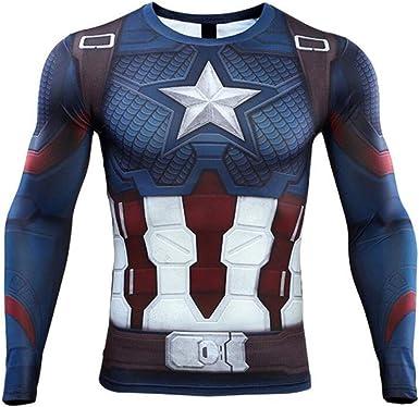YaYang Camiseta de superhéroe Camiseta Deportiva de ...