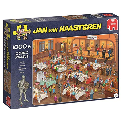 Jan van Haasteren - Darts - 1000 Teile Puzzle ()