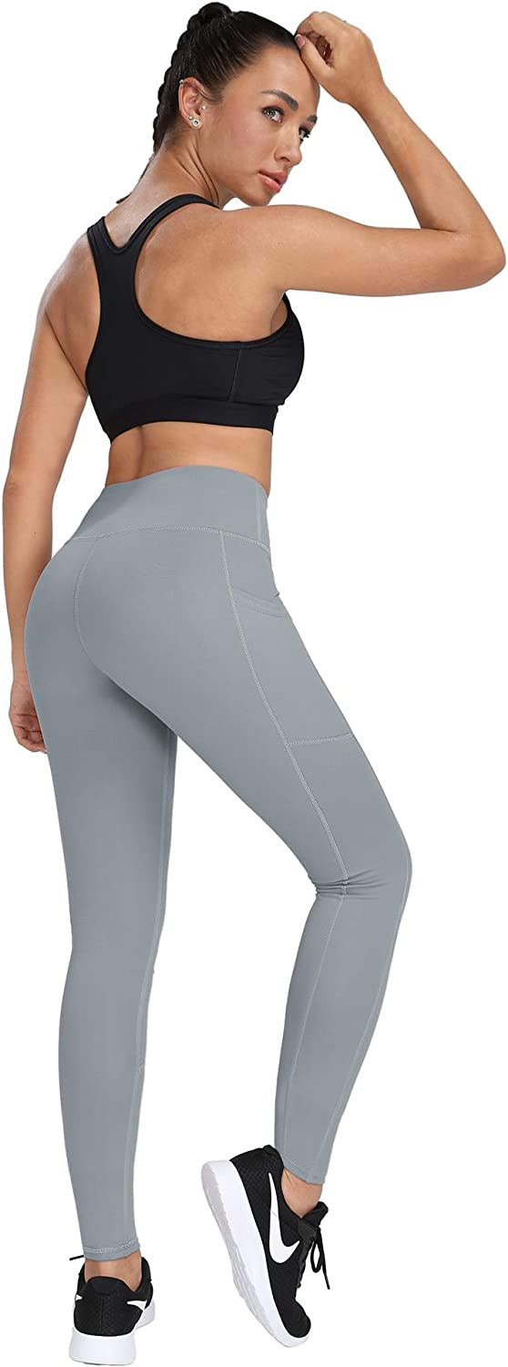 HOFI High Waist Yoga Pants for Women Side /& Inner Pockets with Tummy Control