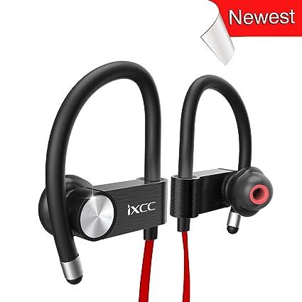 Amazon Com Ixcc Bluetooth Headphones Wireless V4 1 Sports Earphones
