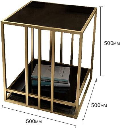 Mesas Wang Nordic Vidrio Templado Sala de Mesa Lateral, Plaza ...