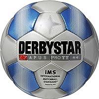 Derbystar Fußball Apus Pro TT, Weiß/Blau, 5, 1715500161