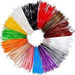 Anpro 3D Pen Filament Refills, 280 Linear Feet,14 Colors, 20 Foot Lengths, 3D Printer ABS Filament 1.75mm 3D Printing Filament Refills 3D Printing Pen