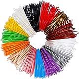 Anpro 3D Pen Filament Refills, 14 Colors, 20 Foot Lengths, 3D Printer ABS Filament 1.75mm, 280 Linear Feet 3D Printing Filament